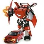Roadbot: Робот-трансформер - REDBOT (Mitsubishi Evolution VIII ,1:18)