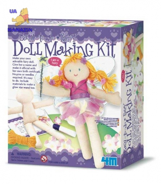 Наряди куклу. Фея ТМ 4M