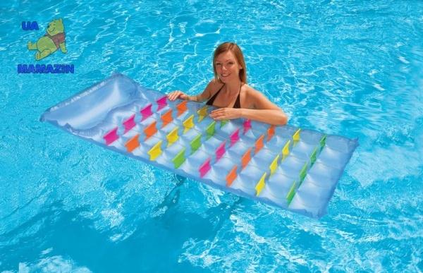 Intex: Пляжный надувной матрас