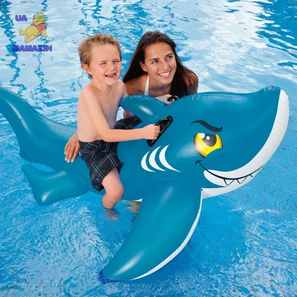 Акула надувная Intex