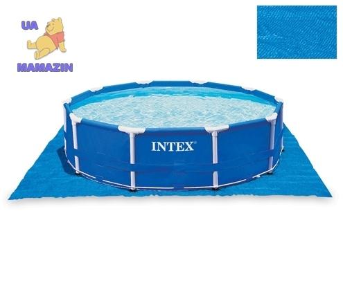 Intex: Подстилка для бассейнов 472х472см
