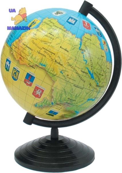 Глобус Украины 160мм ТМ  1Вересня