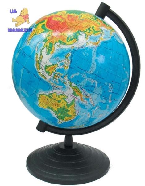 Глобус  физический 160мм ТМ 1Вересня