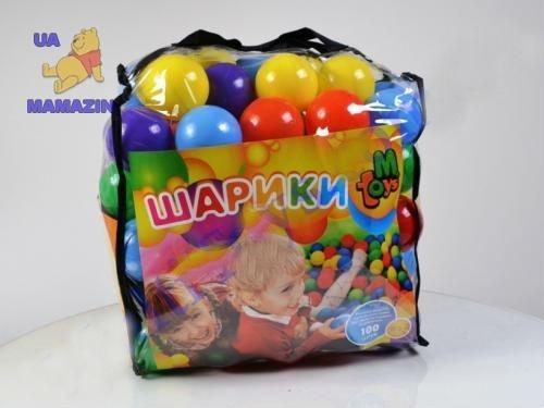 Шарики большие 80мм мягкие 100шт в сумке