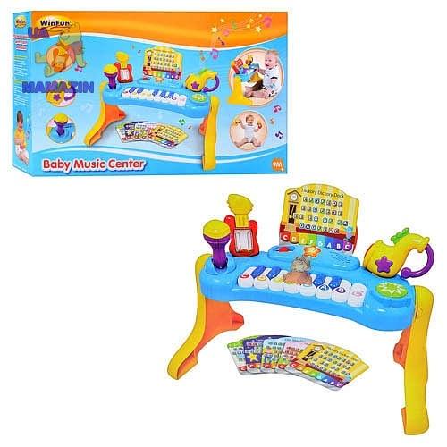 """Развивающий детский музыкальный центр """"Пианино"""""""
