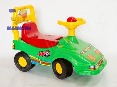 Автомобиль-толкалка каталка Эко-мобиль Технок