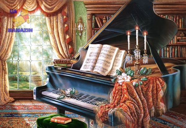 "Пазлы Castorland Copy of ""Amazing Grace"", Judy Gibson 2000 эл."