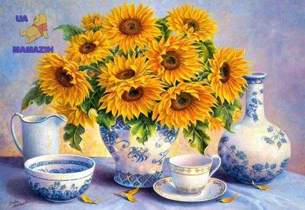 Пазлы Castorland Copy of: Golden Blue, Trisha Hardwick 2000 эл.