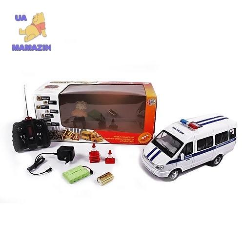 Радиоуправляемая машина Газель  милиция-микроавтобус