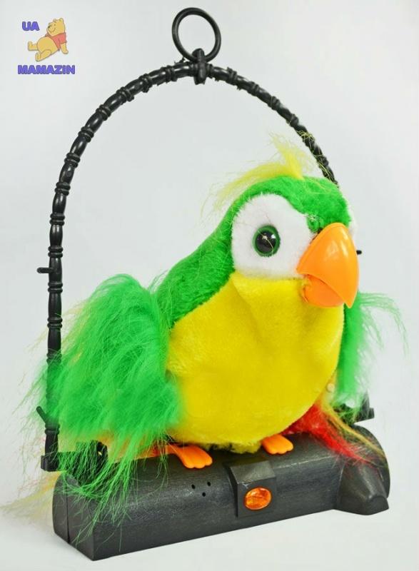 Купить игрушка говорящий попугай