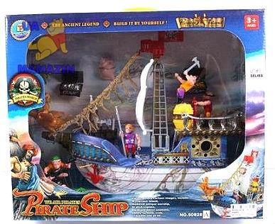 Пиратский набор  корабль, пираты
