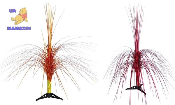 Фонтан-каскад 60 см, в ассортименте 2 вида: красный, золотой