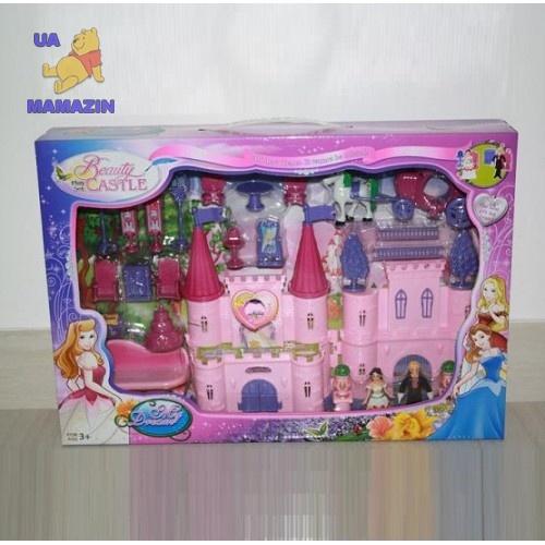 Замок с игровым набором кукол