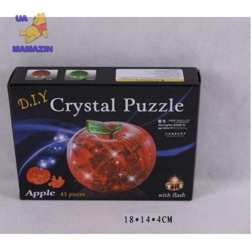 "Пазлы 3D- кристалл ""Яблоко"""