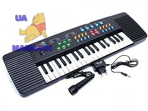 Синтезатор для детей, с микрофоном