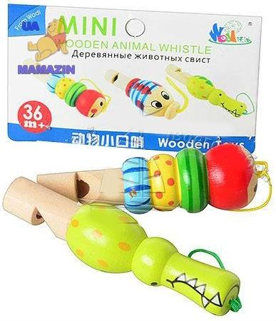 Деревянная игрушка Свисток