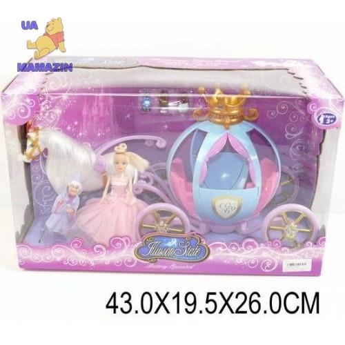 Карета с куклой