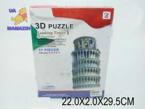 Пазлы 3D Пизанская башня