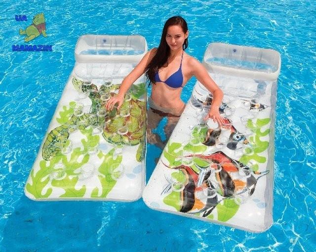 Пляжный надувной матрас ТМ Intex
