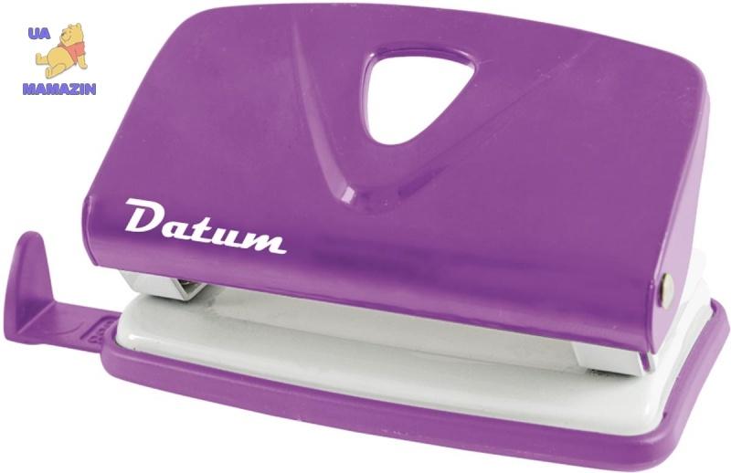 Дырокол 10л метал. D1214-12 фиолетовый