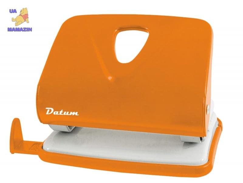 Дырокол 20л метал. D1215-11 оранжевый
