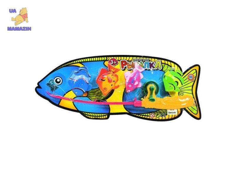 Рыбалка 4 рыбки, удочка