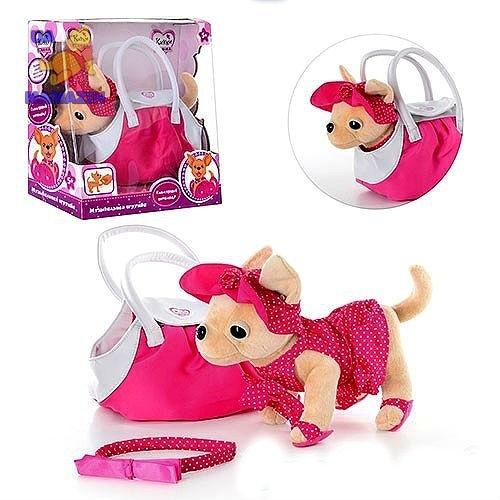 Собачка Кикки  в  сумке