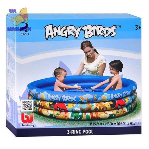 """Бассейн """"Angry Birds"""" Bestway"""