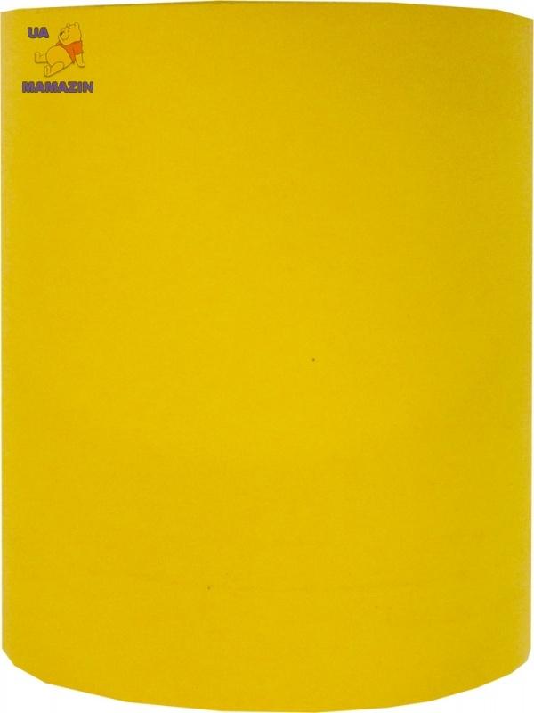 Стакан канцелярский, ЭВА, 11см, желтый