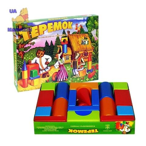 Кубики Теремок маленький в коробке
