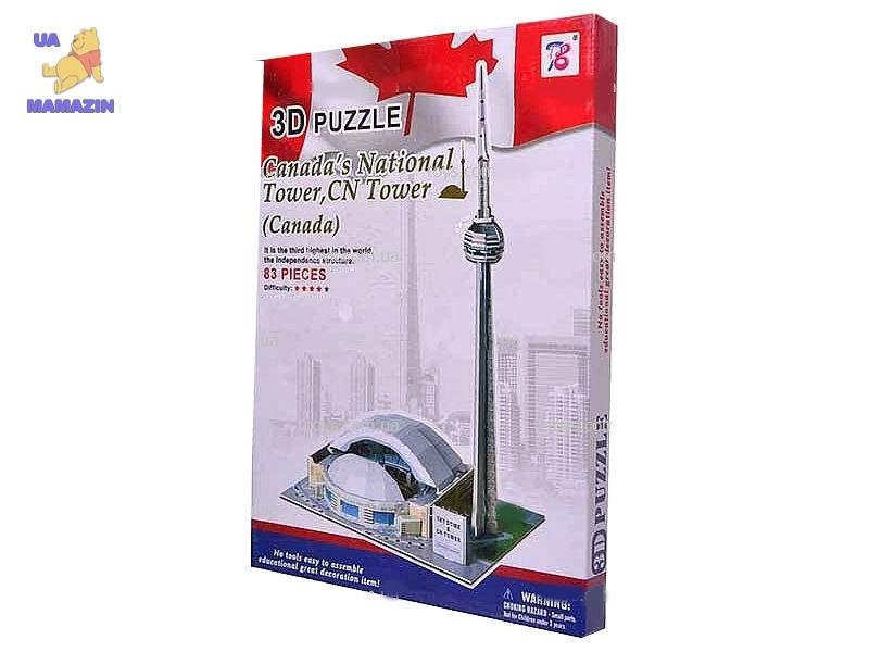 """3D пазл """"Канадская национальная башня"""""""