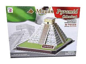 """3D пазл """"Пирамида майя"""""""