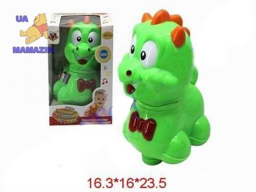 """Музыкальная игрушка """"Динозаврик"""""""