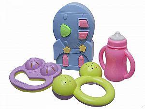 Погремушки для малыша 4 шт., в наборе
