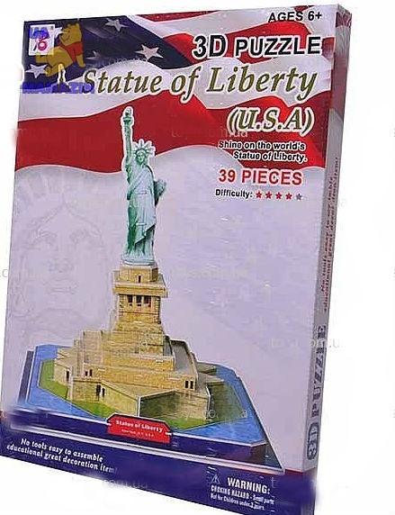 """3D пазл """"Статуя Свободы"""""""