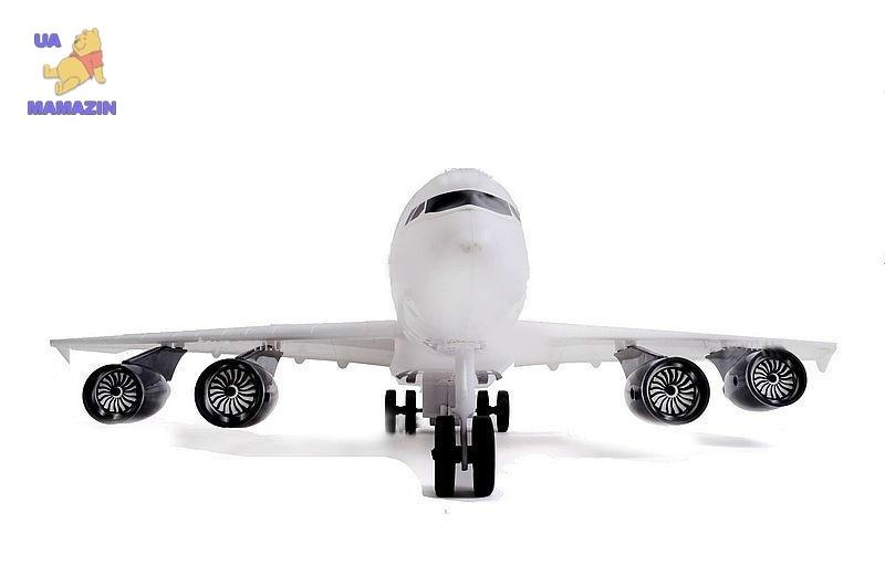 Самолет   звук, свет