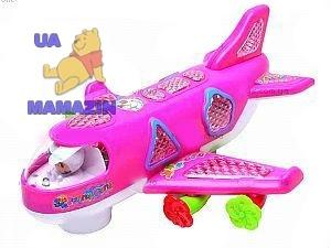 Самолет для девочек