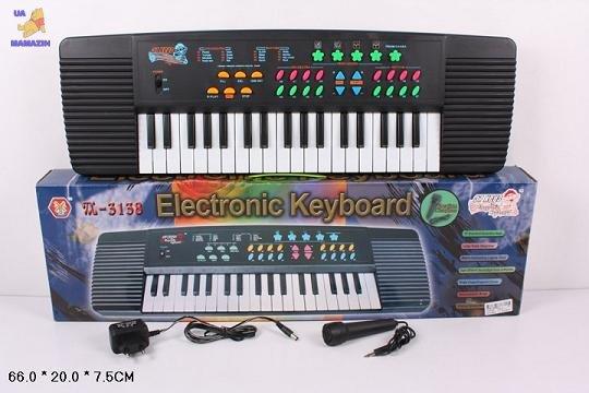 Орган от сети, 37 клавиш,с микрофоном