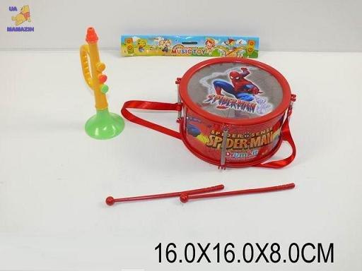 Барабан Спайдермен + труба