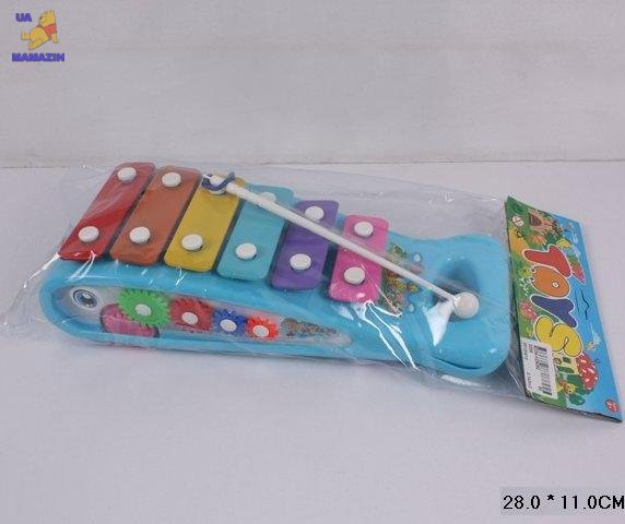 Ксилофон в пакете 28см