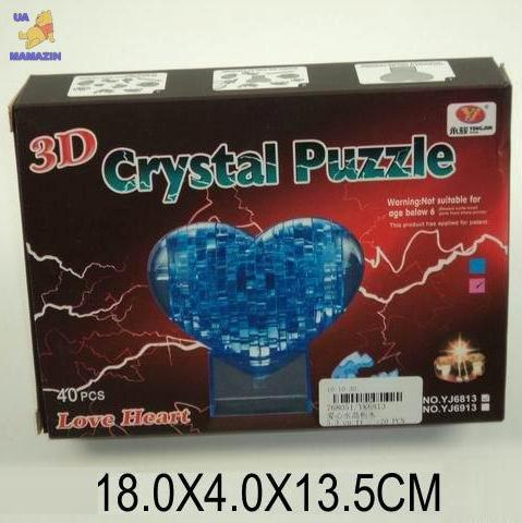 """Пазлы 3D-кристалл """"Сердце"""""""