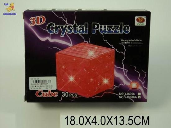 Пазлы 3D- кристалл Куб