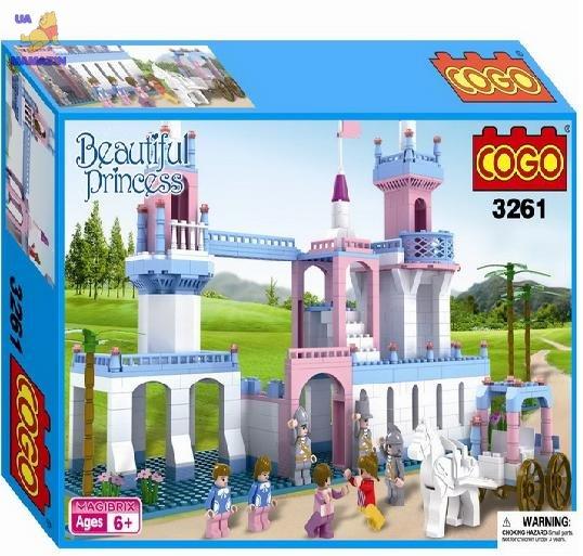 Конструктор Кого Замок принцессы