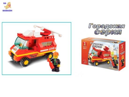 Конструктор SLUBAN Пожарная машина