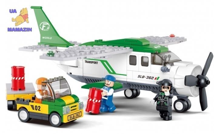 Конструктор Слубан Транспортный самолет