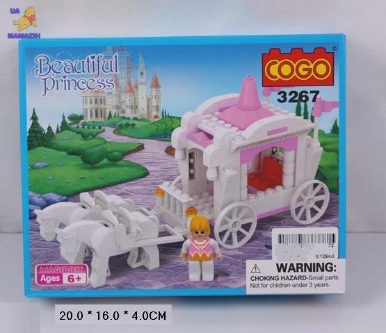 "Конструктор COGO ""Beautiful princess"" карета"