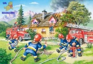 """Castorland: пазлы махі 40 """"Пожарная бригада"""""""