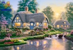 "Пазлы Castorland ""Great Cottage Walkway"", Р.Барнс"