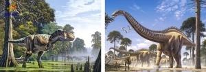 "Castorland: Пазлы 2х1 ""Динозавры"""