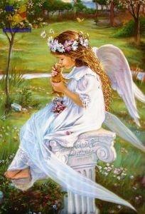 Castorland: Пазлы 500 эл. Ангел целует котёнка